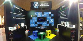 Umbani Software Stand at Electra Mining Africa 2018