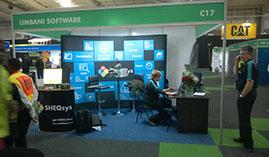 Umbani Software stand at A-OSH Expo 2015