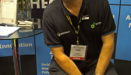 SHEQsys Tim Horn at A-OSH Expo 2016