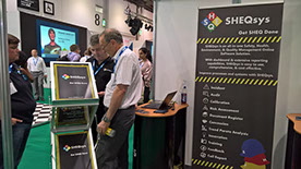 SHEQsys stand at Safety & Health Expo 2017